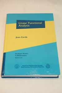 Linear Functional Analysis by Joan Cerda