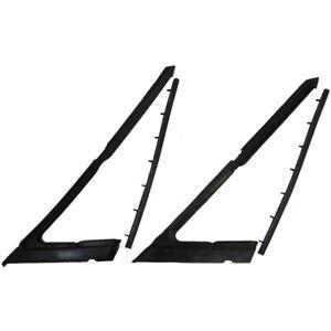 65 - 68 Chev Impala Vent Window Rubber Seals Weatherstrips Sedan 66 67 Belair