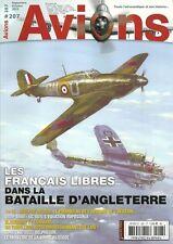 AVIONS N° 207 / LES FRANCAIS LIBRES DANS LA BATAILLE D'ANGLETERRE - A. PEGOUD