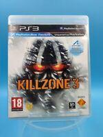 jeu video sony playstation 3 ps3 complet PAL killzone 3 / USK 18 ans