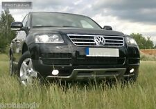 VW Touareg 02-06 PARAURTI ANTERIORE SPOILER LIP Valance Addon R-Line R50 OFF ROAD ABT