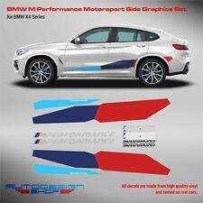 M Performance Motorsport Side Stripes decals Set for BMW X4