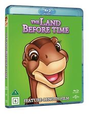 The Land Before Time Region Free Blu Ray(Nordic)