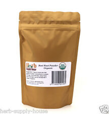 Beet Root Powder * Organic * 6oz, Antioxidant, Blood Cleanse, Juice, Smoothie