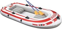 Jilong Cruiser 3000 Set -Inflatable Rowing Rafting Boat with Paddle & Pump 265kg