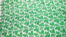 """Indian Cotton Cambric Hand Block Print 44"""" Wide Crafting Sewing Fabric 1 Meter_T"""