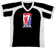 ZSA Zombie Slayer Association Headshot Shotgun Horror Retro Sport T-shirt