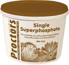 5kg tub of Proctors super phosphate garden fertiliser ideal for veg and digging