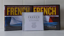 """Pimsleur French 1A and 1B 18CDs and """"Colloquial French CD"""""""