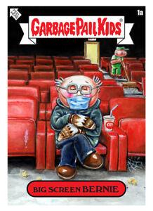 Garbage Pail Kids Gamestonk Digital NFT Big Screen Bernie Mint# 772 WAX Topps