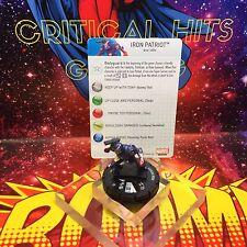 Marvel Heroclix IRON PATRIOT 003 Iron Man 3 NM!