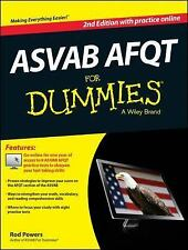 ASVAB Afqt for Dummies® by Consumer Dummies Staff and Rod Powers (2014,...