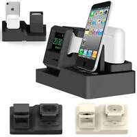 Clasic 3in1 Charging Dock Station Holder Stand For Apple Watch AirPod iPhone X 8