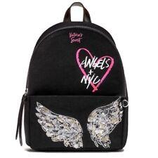Victoria's Secret Fashion Show Bling Mini City Backpack Black Embellished