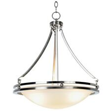 Monument Lighting 617600 3-Light Contemporary Chandelier in Brushed Nickel