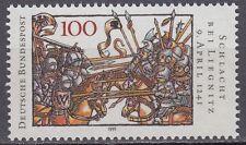 Germany Bund BRD 1991 ** Mi.1511 Schlacht Battle of Liegnitz in 1350