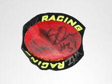 Sam Owen course porté british superbike genou curseur signé rare.