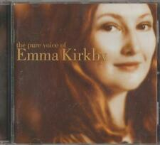 C.D.MUSIC  D971   THE PURE VOICE OF  EMMA KIRKBY   CD