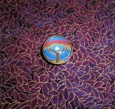 Red And Blue Tree Of Life Domed Magnetic Needle Minder Tool