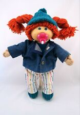Cabbage Patch Kids Girl Doll CPK Red Hair Blue Eyes Pacifier Outfit Clothes