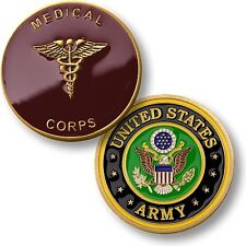 U.S. Army / Medical Corps Challenge Coin