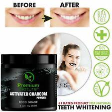 Premium Natural Organic Teeth Whitener Whitening Powder Activated Charcoal