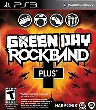 Green Day: Rock Band Plus - Sony PS3 Rock Music / Musical Instruments Game