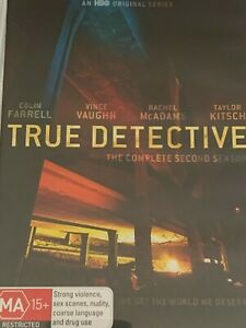 True Detective  Season 2  Colin Farrell Vince Vaughn Rachel McAdams DVD
