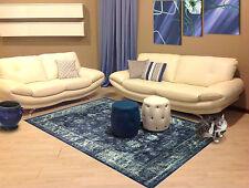 ITA-18453-Modern Vintage Sapphire 290X200 Akrilik New Carpet- Galleria Farah1970