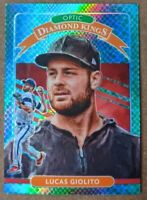Lucas Giolito - White Sox RARE #/84 DRAGON PRIZM 🔥💎 2020 Donruss Optic MINT