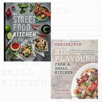 My Street Food Kitchen 2 Books Collection Set (Chriskitch) Hardcover Brand New