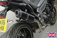 Triumph Tiger Sport SP Diabolus Satin Black Oval XL Carbon Outlet Exhaust