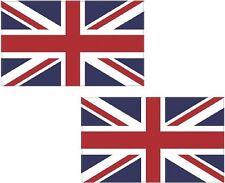 "2 - 4"" Britain Union Jack Flag Decal Set British UK United Kingdom Vinyl Sticker"