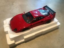 F40 Ferrari Light Weight LM Wing Kyosho Original Rouge / Red 1/18 (like new)