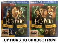 Harry Potter *Options: 8 Film Collection BLURAY or 2 Film Years 1 & 2 or 5 & 6