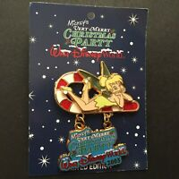 Very Merry Christmas Party 2005 Tinker Bell on Candy Cane LE Disney Pin 43035