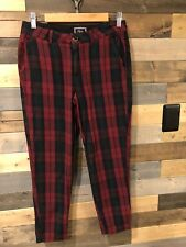 Rails Red Plaid Pants *sold Out* Size M