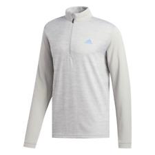 adidas Golf Core 1/4 Zip Top (Grey Two - Medium)