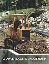 Equipment Brochure - John Deere 400G 450G 550G 650G Crawler Dozer c1988 (E3748)