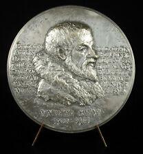 Médaille Maurice Scève poète Lyonnais Lyon les blasons corps féminin nu Délie
