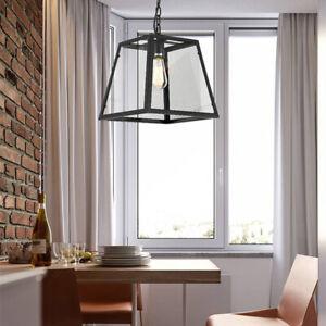 Large Chandelier Lighting Black Pendant Lights Kitchen Ceiling Lamp Home Light