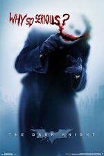 Batman Dark Knight Joker WHY SO SERIOUS Poster PEEL & STICK WALL DECAL 24 x 36