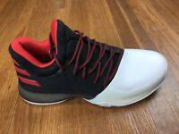 Adidas Harden Vol. 1 Basketball Shoes Sz 5.5 Womens Sz 6.5 Red White Pioneer