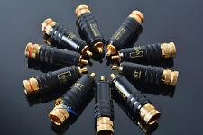 10PCS RCA Connectors Male WBT-0144 Signal Line Plug WBT 0144 RCA Plug Connector