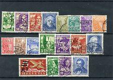 Schweiz o - aus  1933 - 34  -  KW 114, --  ( 13823 )