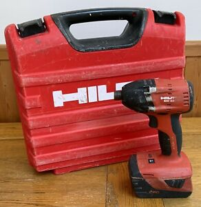 Hilti SID 22-A Cordless Impact Driver With Battery And Case