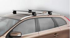 Genuine Volvo 2009-2016 XC60 Black Square Profile Load Bars 31435482 NEW OEM