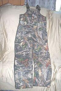 Boys Large Kanati Camo Bibs Insulated Hunting Bib Overalls Camouflage Coveralls