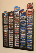 "24""x27"" 70 Car Hot Wheels Matchbox In-Package Collectors Display Shelf"