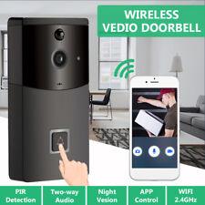 WiFi Wireless Smart Doorbell HD Video Camera Phone Intercom Free APP Control USA